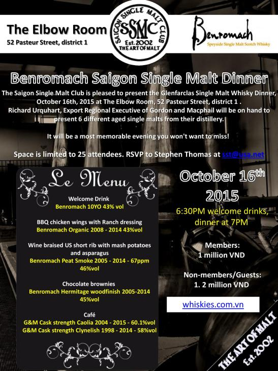 Benromach single malt whiskey dinner-page-001